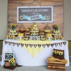 Country themed Graduation Party by Ashleigh Nicole Events - None