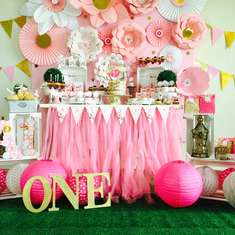 Pretty in Pink•Angelina's Bday - Angelina's turns one
