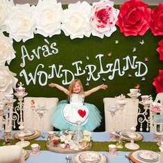 Ava's Wonderland  - Alice in Wonderland