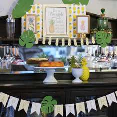 Party Like a Pineapply-n-Bows - Pineapple Adult Dinner Party