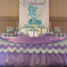 Copeland's Birthday Bash - Mermaid