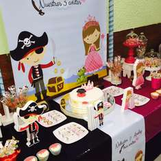 Piratas y princesas - Pirates and princess