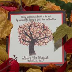 Lena's Fall Themed Bat Mitzvah - Fall Theme