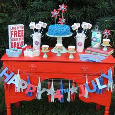4th of July with a Vintage touch - July 4th