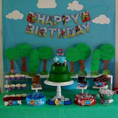 Zacks Paw Patrol Birthday Party - Paw Patrol