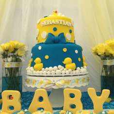 Sebastian Ducky Baby Shower  - Rubber Duckies