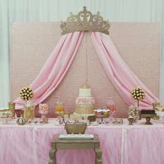 Princess Glam Baby Shower - Princess Glam