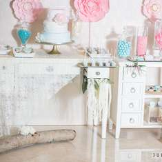 Rustic Garden Baby Shower and Gender Reveal - Garden