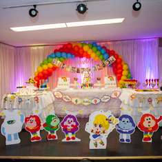 "Rainbow Brite 1st Birthday - ""Rainbow Brite"""