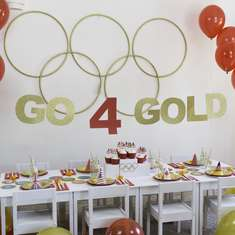 """Go 4 Gold"" Olympics Party - Olympics"