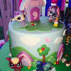 Cumple Delfi - Littlest Pet Shop