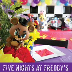 Five Nights At Freddy's Pretty Birthday Party  - Five Nights At Freddy's
