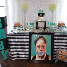 Tiffany and Co Inspired Baby Shower Ready to Pop  - Tiffany's