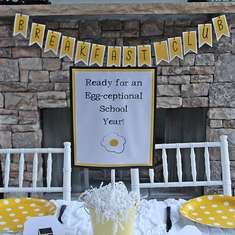 Ready for an Egg-Ceptional Year - Back to School Breakfast