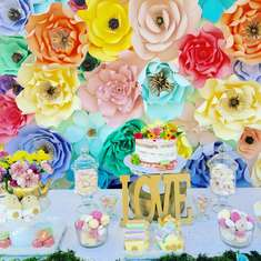 Aradel's Bridal Tea Shower - Tea Party
