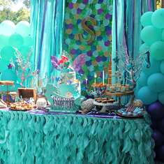 Sophie's mermaid bash - Mermaids, Ariel, pirates