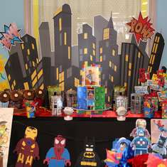 Robby's Lego Superheros 5th Birthday Party - Lego Superheros