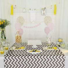 Elephant Yellow and Grey Baby Shower - Elephant Yellow and Grey
