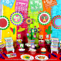 Mexican Fiesta Party decoration - Mexican fiesta