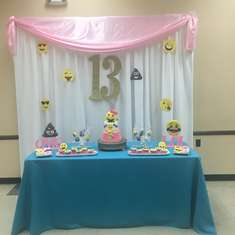 Lanyia's 13th Birthday Celebration - emoji