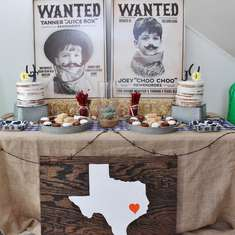 Joey & Tanner's Western Rodeo 4th Birthday Party - Western Rodeo