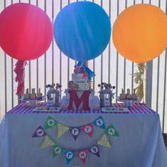 Madison's 3rd Birthday Arty Party - Arts & Crafts