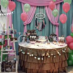 Shabby chic Birthday Party - Shabby chic