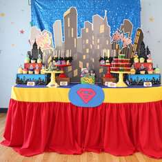 Lego Super Hero Birthday Party  - Superhero