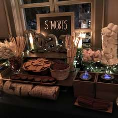 Emily's Under the Stars Sweet 16 - S'mores Bar, Stars, Twinkle Lights, Paper Lanterns, Starry Sips