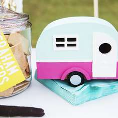 Girly Glamping Birthday Party - Camping