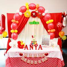 Its Elmo inspired Sesame Street party - Sesame Street