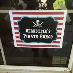 Our Pirate's Halloween Bunco - Pirates