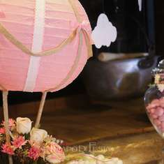 mongolfiera shabby chic - Hot Air Balloon