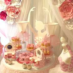 Pretty N Pink Petals Birthday Party - Ballerina