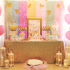 A Unicorn Themed Welcome Baby Party - Unicorns