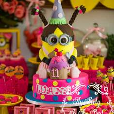 Luana's amazing minions girl party - Despicable Me / Minions