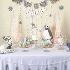 "Winter Baby Shower  - ""Baby it's Cold Outside"""