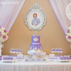 Sofia the first birthday party - Sofia the first
