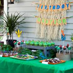 A Dino-Mite Third Birthday Party - Dinosaurs