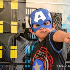 Captain America 4th Birthday - Captain America