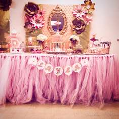 Pink and Gold Ballerina party  - Ballerina