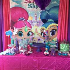 Venice's Shimmer and Shine Party - Shimmer and Shine