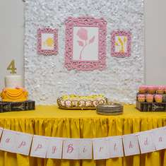 Kate was the Belle of the Ball at her Beauty & The Beast Party! - Belle / Beauty and the Beast