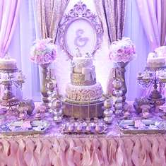 Princess Teddy bear baby shower - Teddy bear