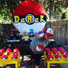 Derek's Pokemon Go Birthday Party  - Pokemon Go