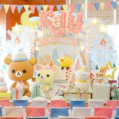 Rilakkuma in winter birthday partyyu - Winter