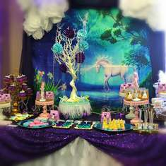 Unicorn Birthday party - Unicorns