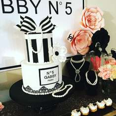 Gabby N°5 birthday party - Chanel