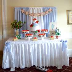 Modern Wizard of Oz Baby Shower - Wizard of Oz