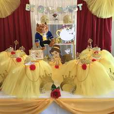 Beauty and the Beast Birthday Party - Disney Princess Party